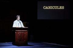 Atelier CANICULES EN UN SEUL GROS ACTE dirigé par Yoann Despré, Charly Fournier et Ludovic Lacroix .