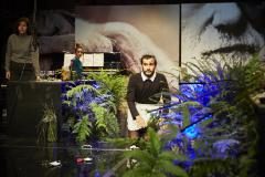 Répétition de l'atelier de 3e année EINSAM mis en scène par Emmanuel Daumas © Christophe Raynaud de Lage